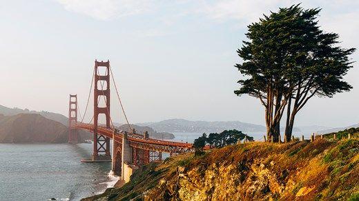 View of Golden Gate Bridge #kilroy #travel #USA #Sanfran
