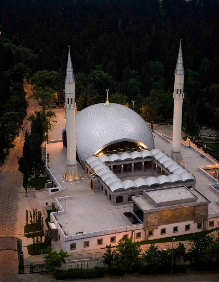The most modern mosque in Turkey.