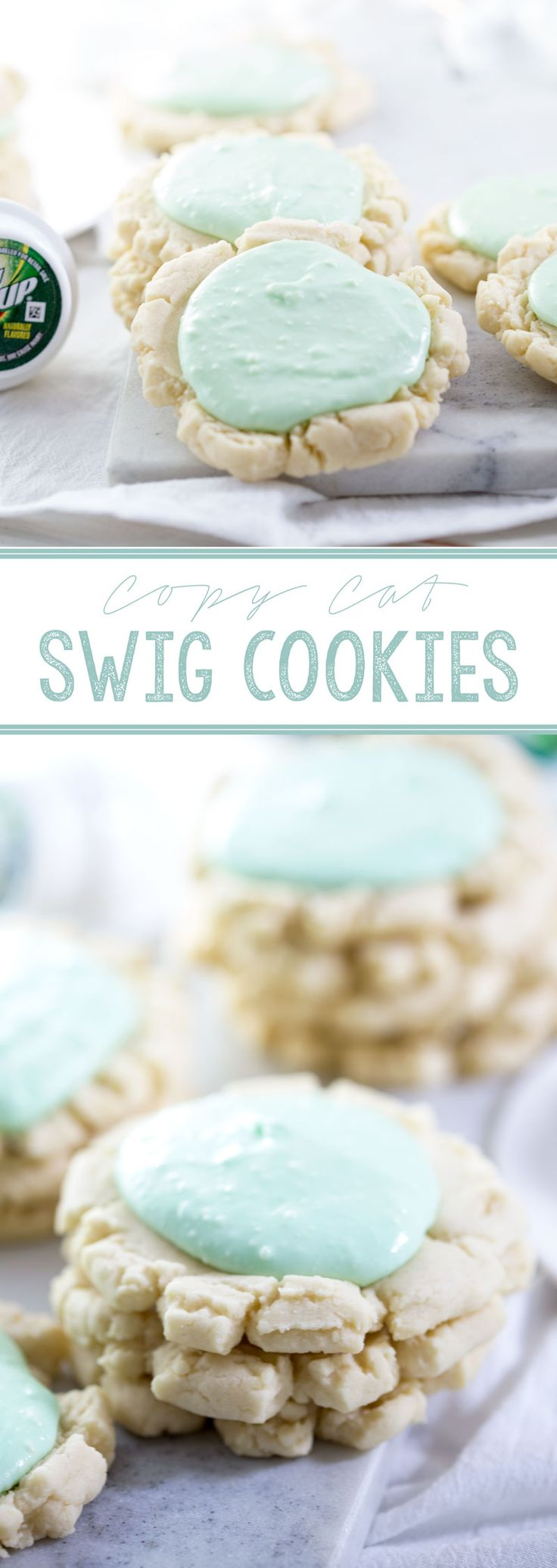 Copy Cat Swig Cookies- Chilled drop sugar cookies with a tasty sour cream frosting. Yum! #ad - Eazy Peazy Mealz