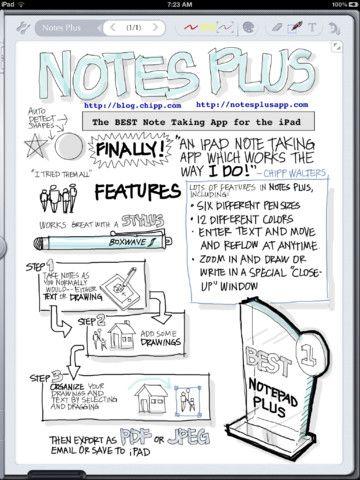 iPad en entreprise: NotesPlus. La prise de notes sur iPad.