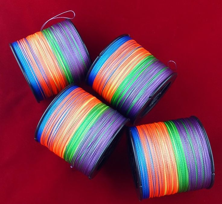 Super Strong Colorful Fishing Line //Price: $22.03 & FREE Shipping //     #sea #boat #lake #fishinglife #ocean