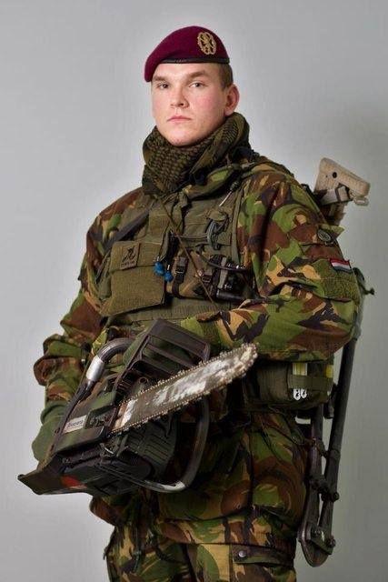 Dutch Royal Marines.