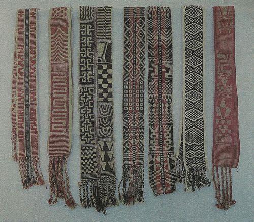 Fajas chaqueñas y chiriguano - chanés. Paraguay