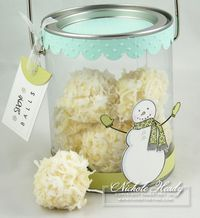 coconut truffles---need to make these for Christmas gifts