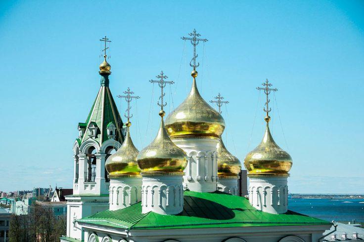 #russia #nizhnynovgorod #travel #city #street #building #church #temple #ortodox