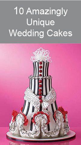 10 Amazingly Unique Wedding Cakes