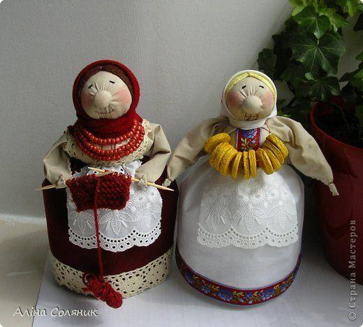 Куклы Шитьё Кукла-мотанка Ткань фото 41