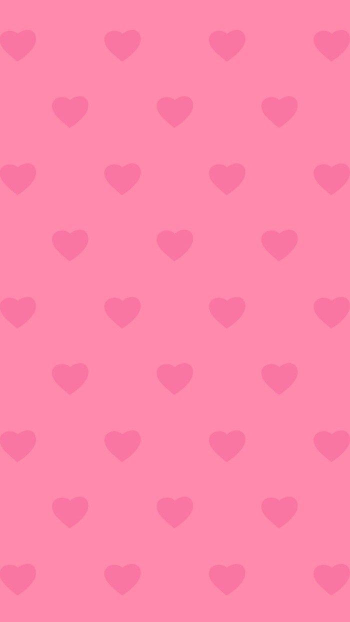 ✿ฺDuitang ~ Pink Hearts Background.