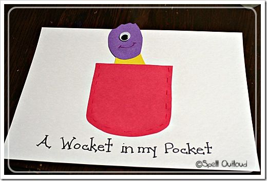 There's A Wocket in My Pocket -- rhyming