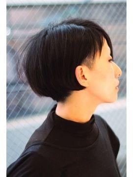黒髪ストレートがかっこいい。女性のブロックヘア参考一覧です♡