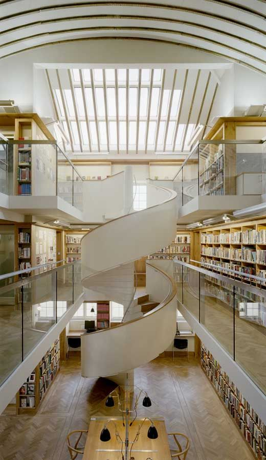 Abbeyleix Library Building, Ireland: Architecture Lights, Interiors Design, Libraries Bookstores Book, Public Libraries, Stairs Design, Abbeyleix Libraries, Libraries Abbeyleix, Libraries Building, Meagher Architects