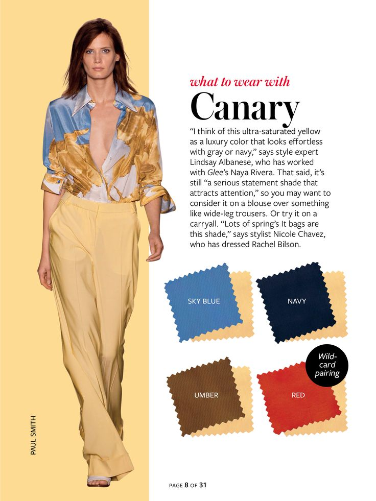 Instyle Color Crash Course - Canary