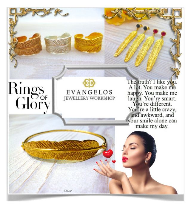 Evangelos Jewellery by kiveric-damira on Polyvore featuring polyvore fashion style Tiffany & Co. clothing ring bracelet necklace earrings