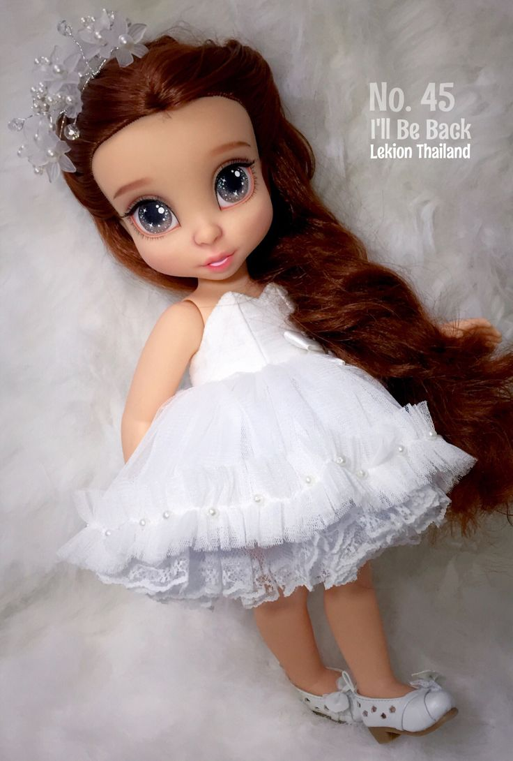Disney Animator Doll Form Lekion Thailand Hair Style By Lekion Thailand Make Up…