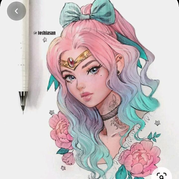 Pin By Whimsykissd On Unicorn Art Drawing Cute Kawaii Drawings Kawaii Drawings Cute Drawings