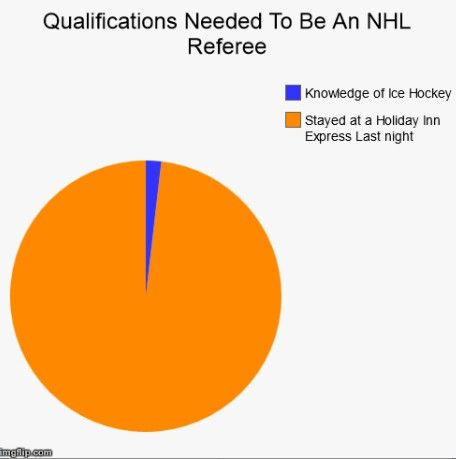 Qualifications to be an #NHL Referee #hockey