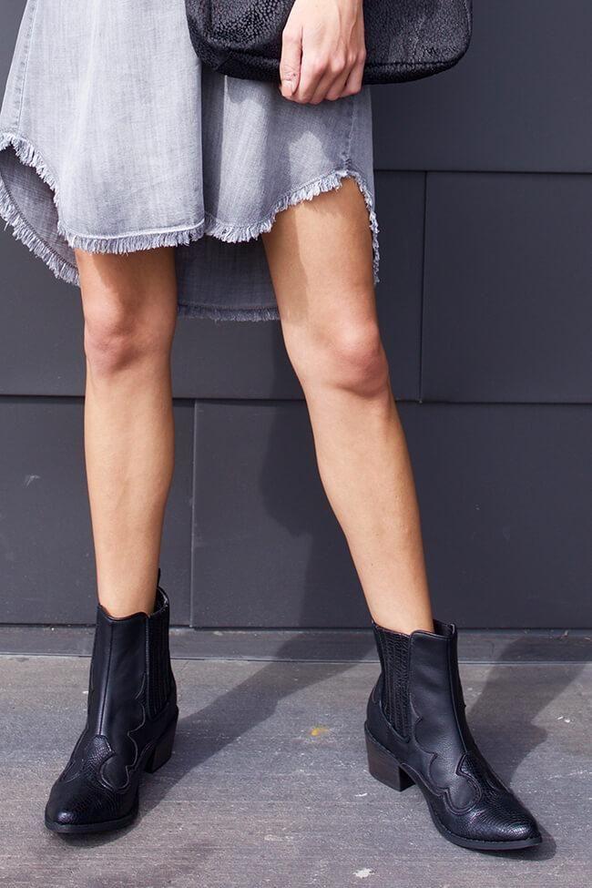 Cavalier Boots Black