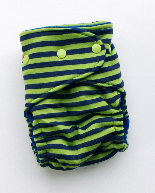 Asher One-Size Fitted Diaper by Orange Diaper Co, via Flickr
