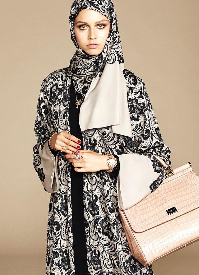 Dolce & Gabbana's abaya debut | Buro 24/7
