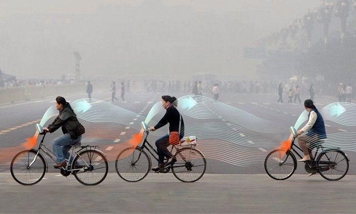 Kola Smog Free Bicycle mají čistit města od smogu