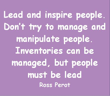Lead and Inspire