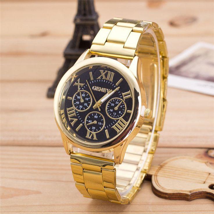 $2.45 (Buy here: https://alitems.com/g/1e8d114494ebda23ff8b16525dc3e8/?i=5&ulp=https%3A%2F%2Fwww.aliexpress.com%2Fitem%2F2015-New-Vintage-Womens-Men-Stainless-Steel-Digital-Alarm-Stopwatch-Wrist-Watch-Gold-Digital-Watches%2F32464360140.html ) Luxury Brand Women Watch Leather Brand Roman Numerals Big Dial Hour Analog Quartz Wrist Watches for just $2.45
