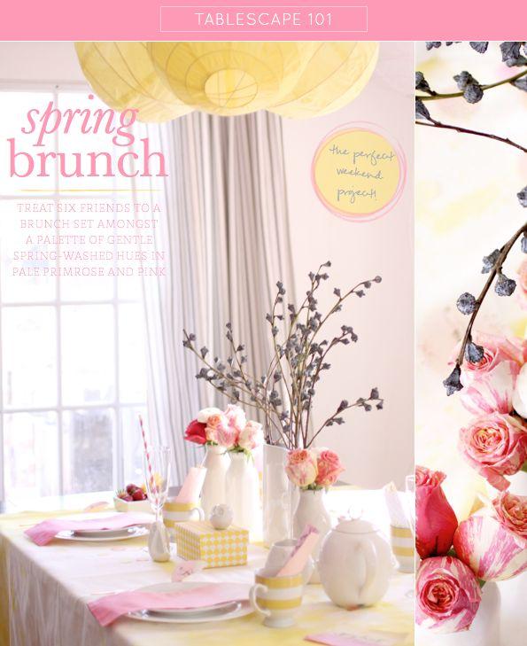 Host a spring brunch & tea