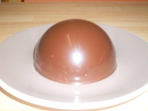Faire des coques en chocolat - YouTube