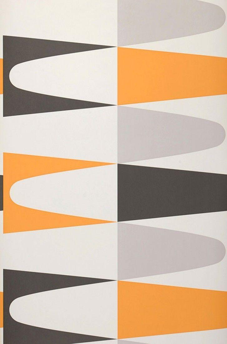 Jaron | Papier peint géométrique | Motifs du papier peint | Papier peint des années 70