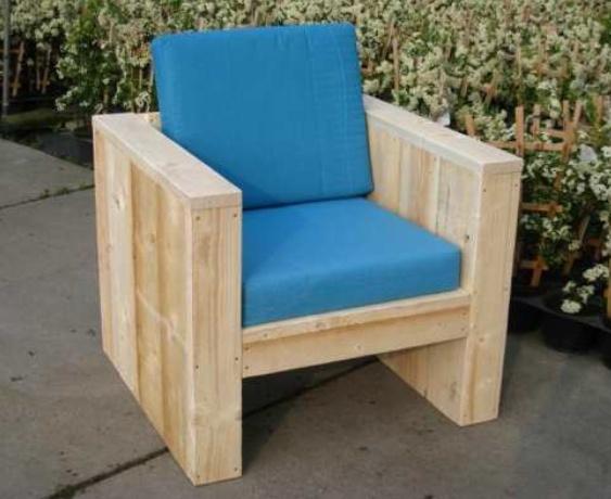 """Steigerhouten Loungestoel """"Boka Sami"""""""