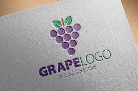 Check out Grape Logo by samedia on Creative Market
