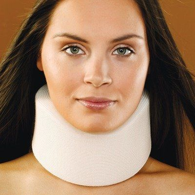 how to wear a soft neck collar