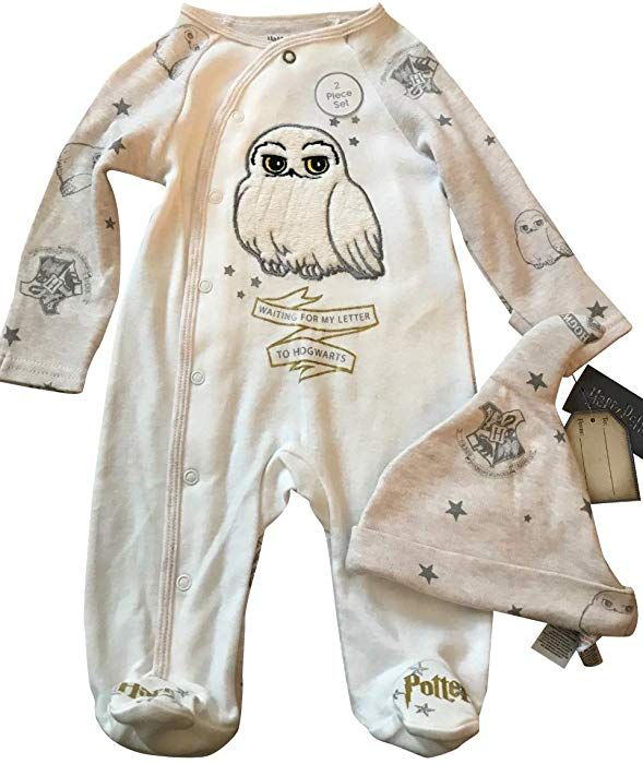 3b61553b3 Harry Potter Baby Sleepsuit with Hat Babygrow Baby Clothes Waiting for My  Letter to Hogwarts (6-9 Months): Amazon.co.uk: Clothing