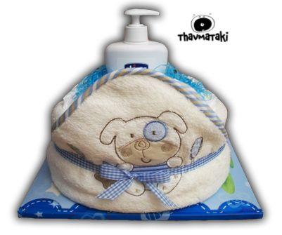 "http://thavmataki.gr/eshop/diaper-cakes/bath-time-boy.html Η ""Ώρα για μπάνιο"" με λίγο διαφορετική όψη! Τιμή 23€ Κλικ στο eshop για όλες τις λεπτομέρειες!"