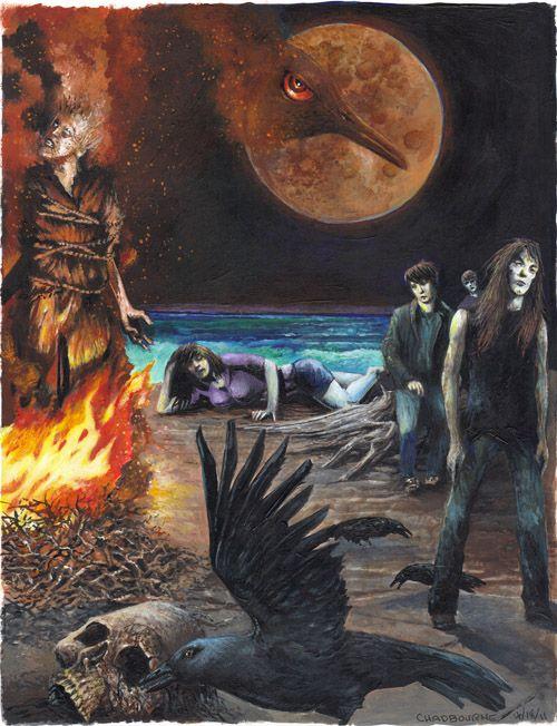 Night Shift: Story 3. Night Surf - fan art | The World of Stephen ...