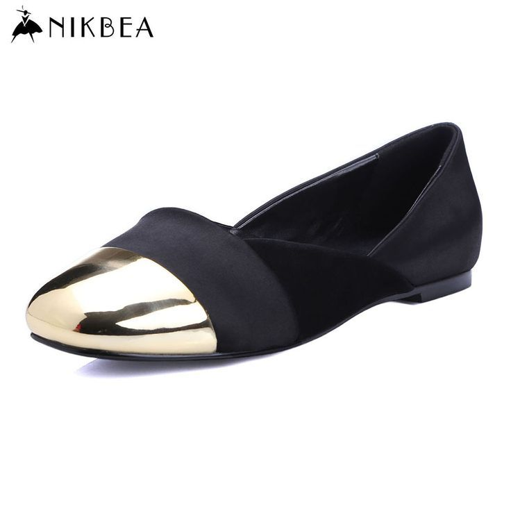 Tendance Chaussures 2017/ 2018 :    Description   Nikbea 2016 Flat Shoes Women Ballerina Flats Boat Shoes Loafers Moccasins Ballerines Femme Chaussures Large Size Mocassin Femme    - #Chausseurs https://madame.tn/fashion/chausseurs/tendance-chaussures-2017-2018-nikbea-2016-flat-shoes-women-ballerina-flats-boat-shoes-loafers-moccasins-baller/