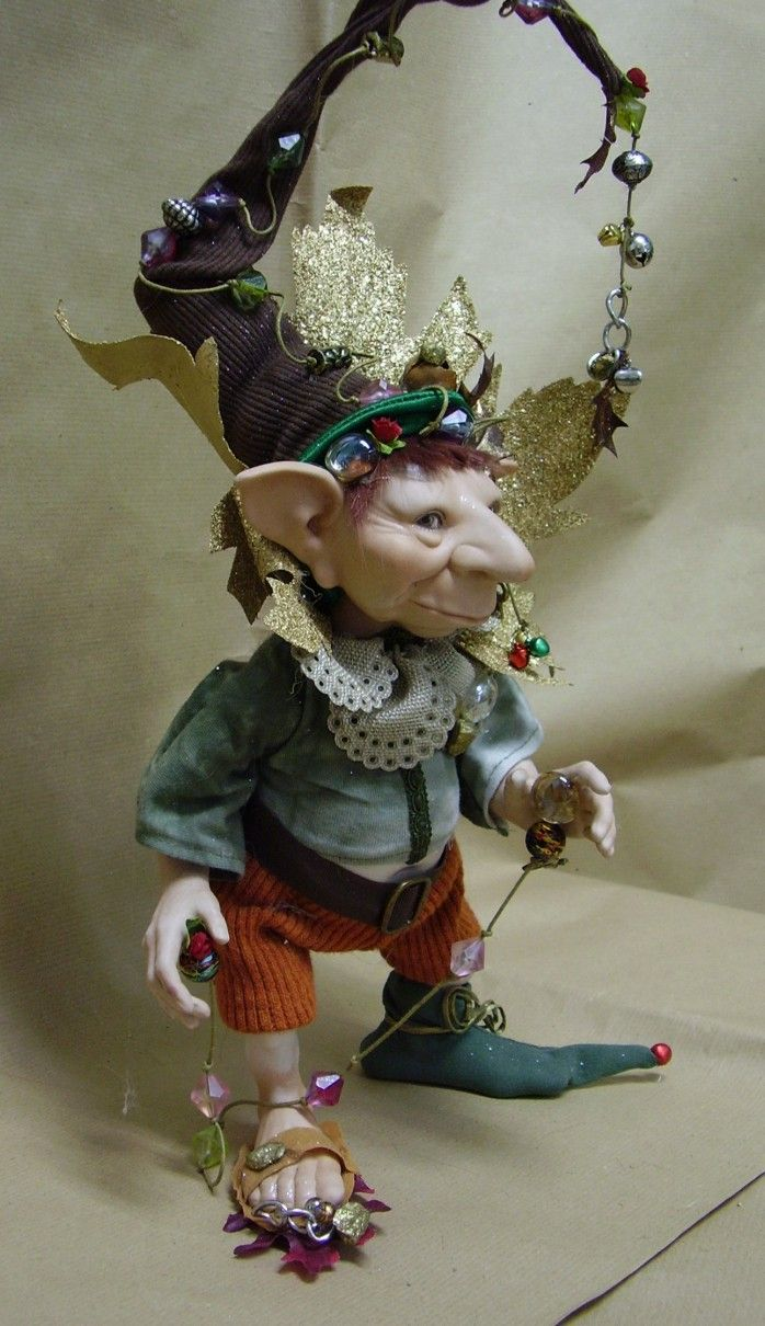 1274 Best Polymer Clay Dolls 2 Images On Pinterest Elves