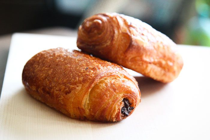 A good chocolate croissant is hard to come by and this one at Taralucci e Vino is one of the best.
