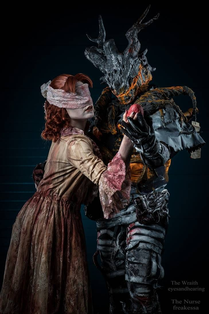 The Wraith And The Nurse Dead By Daylight Cosplay By Eyesandhearing On Deviantart Cosplay Cute Cosplay Dead