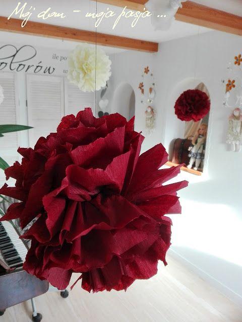Bibułowe kwiaty