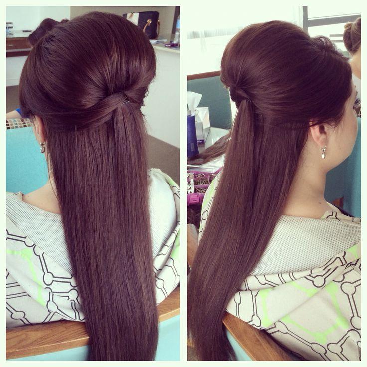 Marvelous 1000 Ideas About Straight Wedding Hair On Pinterest Updos For Short Hairstyles Gunalazisus