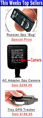 Discount Spy Equipment & Hidden Cameras / GPS / online spy store / spy shop