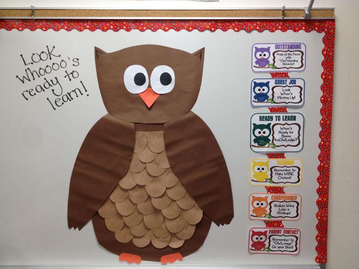 Owl Behavior Chart System!: School Classroom, Classroom Decor, Owls Classroom, Classroom Owl, Owl Theme, Owl Classroom, Classroom Behavior, Classroom Ideas, Themed Classroom