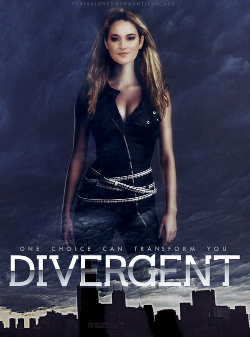 divergent movie poster shailene woodley as tris prior