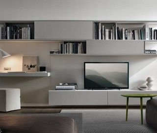 17 Terrific Living Room Wall Units Photo Ideas