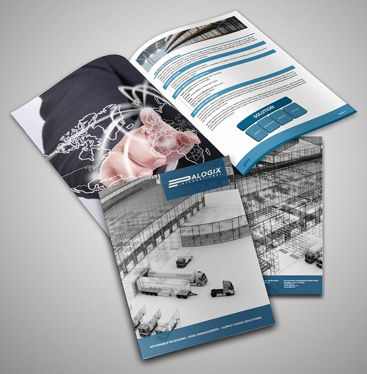 Palogix International Brochure Design