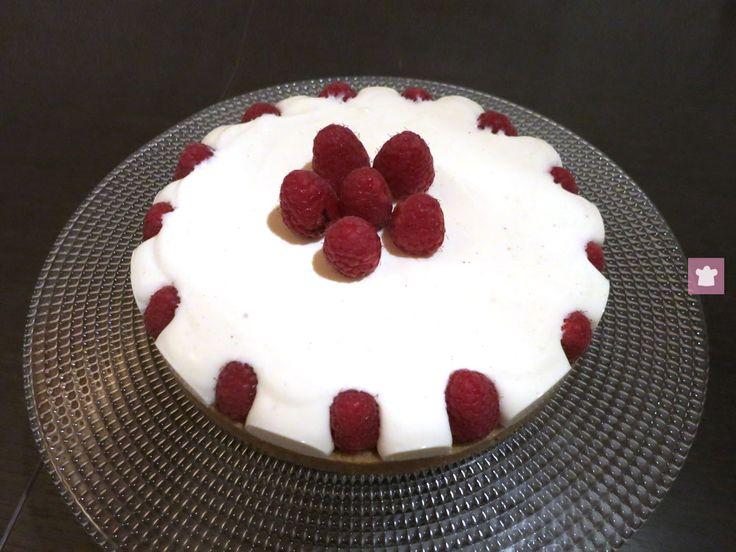 Cheesecake+ai+lamponi+senza+cottura