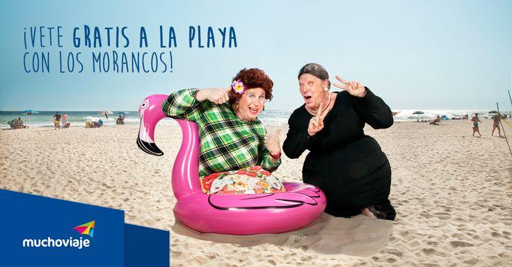 ¡El hit de los Morancos te transporta a la playa! Participa y gana un viaje a Tenerife con @muchoviaje #yomelogastoenunviaje