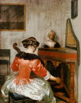 Borch or Terborch Gerard ter - The concert.