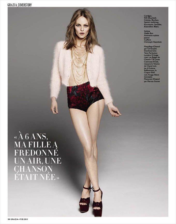 Ванесса Паради в Grazia France (Интернет-журнал ETODAY)